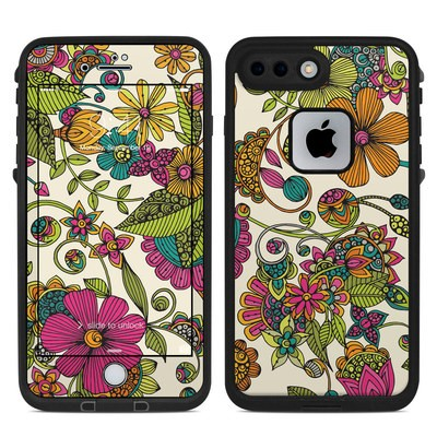 Lifeproof iPhone 7 Plus Fre Case Skin - Maia Flowers