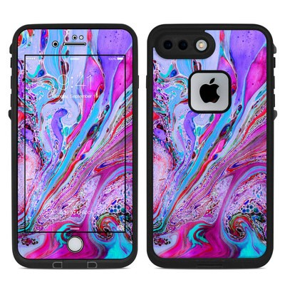 Lifeproof iPhone 7-8 Plus Fre Case Skin - Marbled Lustre