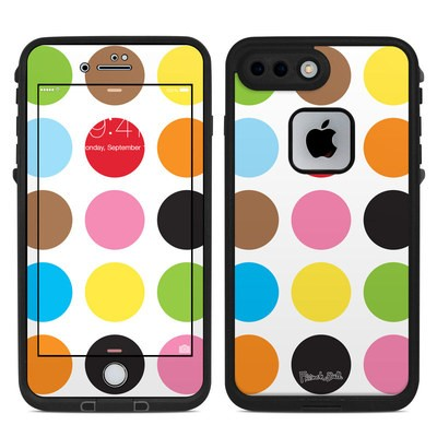Lifeproof iPhone 7-8 Plus Fre Case Skin - Multidot