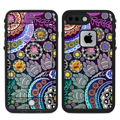 Lifeproof iPhone 7 Plus Fre Case Skin - Mehndi Garden