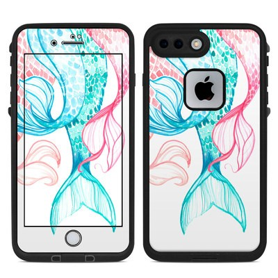 Lifeproof iPhone 7 Plus Fre Case Skin - Mermaid Tails
