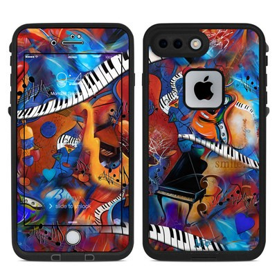 Lifeproof iPhone 7-8 Plus Fre Case Skin - Music Madness
