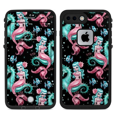 Lifeproof iPhone 7 Plus Fre Case Skin - Mysterious Mermaids