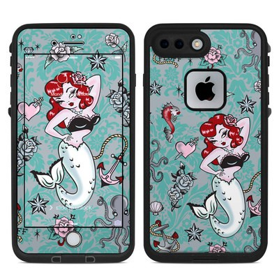 Lifeproof iPhone 7 Plus Fre Case Skin - Molly Mermaid