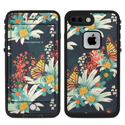 Lifeproof iPhone 7 Plus Fre Case Skin - Monarch Grove