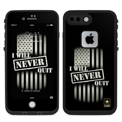 Lifeproof iPhone 7 Plus Fre Case Skin - Never Quit