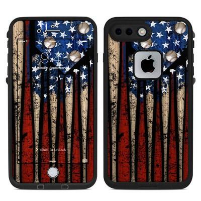 Lifeproof iPhone 7 Plus Fre Case Skin - Old Glory