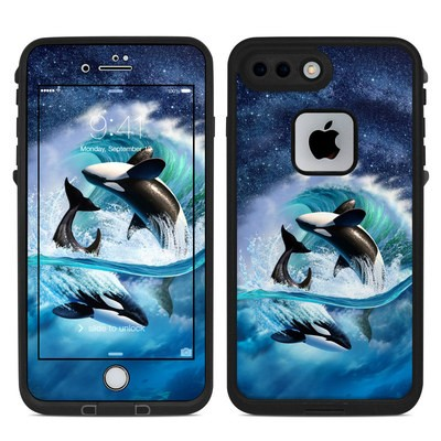 Lifeproof iPhone 7-8 Plus Fre Case Skin - Orca Wave