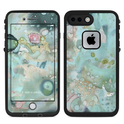 Lifeproof iPhone 7 Plus Fre Case Skin - Organic In Blue