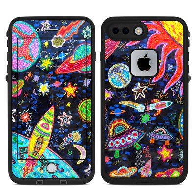 Lifeproof iPhone 7 Plus Fre Case Skin - Out to Space