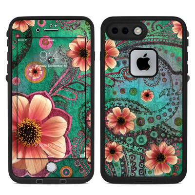 Lifeproof iPhone 7 Plus Fre Case Skin - Paisley Paradise