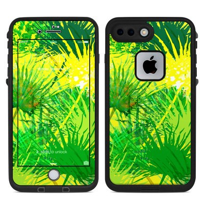 Lifeproof iPhone 7 Plus Fre Case Skin - Palms