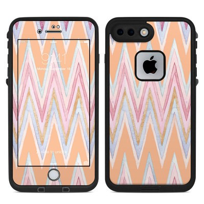 Lifeproof iPhone 7-8 Plus Fre Case Skin - Pastel Chevron