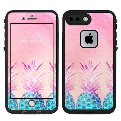 Lifeproof iPhone 7-8 Plus Fre Case Skin - Pineapple Farm