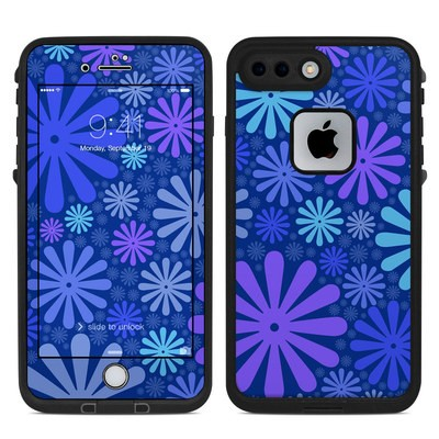 Lifeproof iPhone 7 Plus Fre Case Skin - Indigo Punch