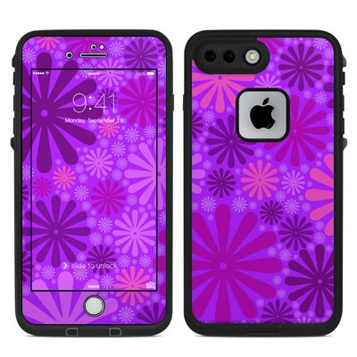 Lifeproof iPhone 7 Plus Fre Case Skin - Purple Punch