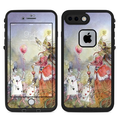 Lifeproof iPhone 7 Plus Fre Case Skin - Queen of Hearts