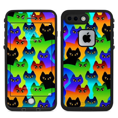 Lifeproof iPhone 7 Plus Fre Case Skin - Rainbow Cats