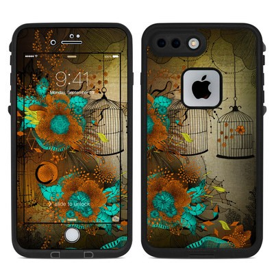 Lifeproof iPhone 7 Plus Fre Case Skin - Rusty Lace