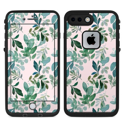 Lifeproof iPhone 7-8 Plus Fre Case Skin - Sage Greenery