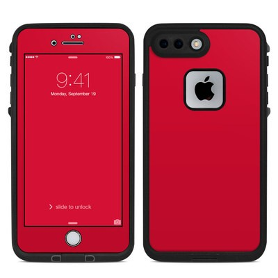 Lifeproof iPhone 7 Plus Fre Case Skin - Solid State Red