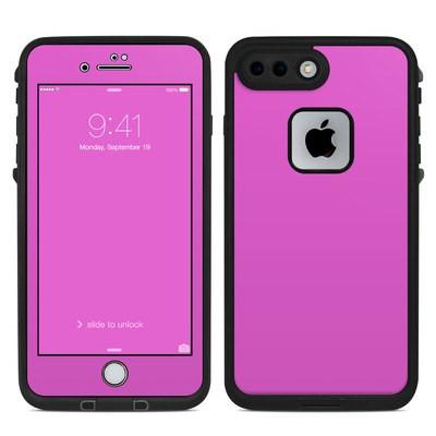 Lifeproof iPhone 7 Plus Fre Case Skin - Solid State Vibrant Pink