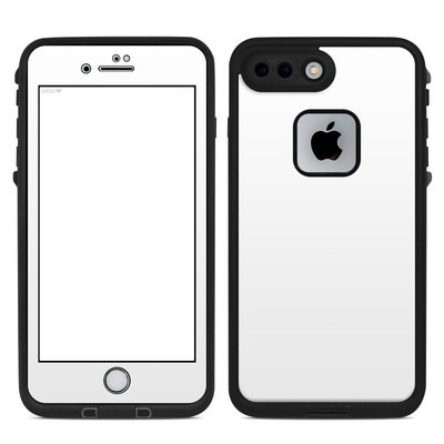 Lifeproof iPhone 7 Plus Fre Case Skin - Solid State White