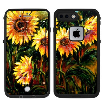 Lifeproof iPhone 7-8 Plus Fre Case Skin - Sunflower Sunshine