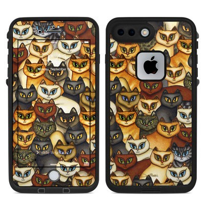 Lifeproof iPhone 7 Plus Fre Case Skin - Stacked Cats