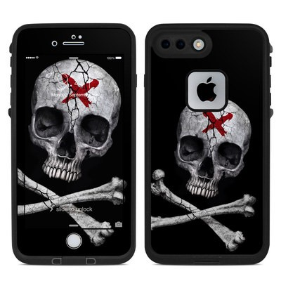 Lifeproof iPhone 7-8 Plus Fre Case Skin - Stigmata Skull