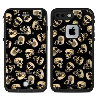 Lifeproof iPhone 7-8 Plus Fre Case Skin - Skull Toss