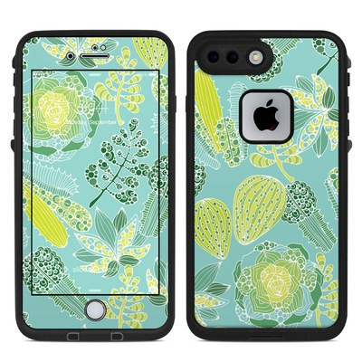 Lifeproof iPhone 7 Plus Fre Case Skin - Succulents