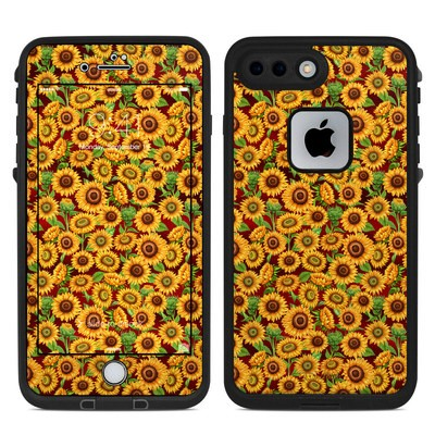 Lifeproof iPhone 7-8 Plus Fre Case Skin - Sunflower Patch