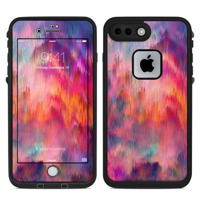 Lifeproof iPhone 7 Plus Fre Case Skin - Sunset Storm