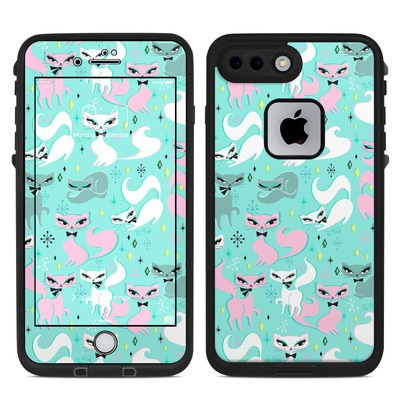 Lifeproof iPhone 7-8 Plus Fre Case Skin - Swanky Kittens