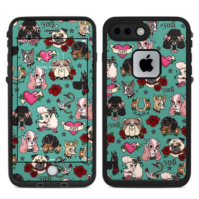 Lifeproof iPhone 7-8 Plus Fre Case Skin - Tattoo Dogs