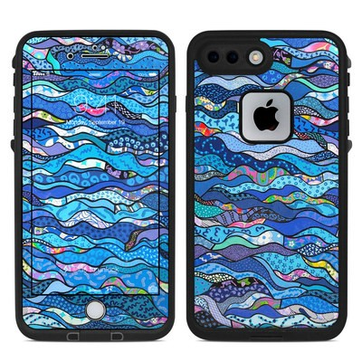 Lifeproof iPhone 7 Plus Fre Case Skin - The Blues