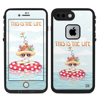 Lifeproof iPhone 7-8 Plus Fre Case Skin - This Is The Life
