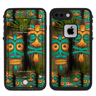 Lifeproof iPhone 7-8 Plus Fre Case Skin - Tiki Abu