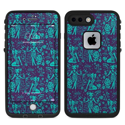 Lifeproof iPhone 7-8 Plus Fre Case Skin - Tiki Temptress Teal