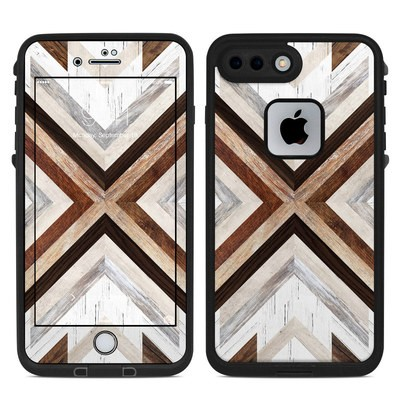 Lifeproof iPhone 7 Plus Fre Case Skin - Timber