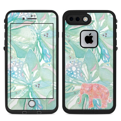 Lifeproof iPhone 7 Plus Fre Case Skin - Tropical Elephant
