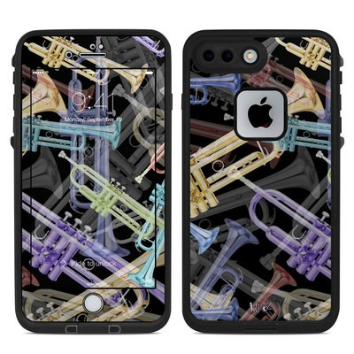 Lifeproof iPhone 7 Plus Fre Case Skin - Trumpets