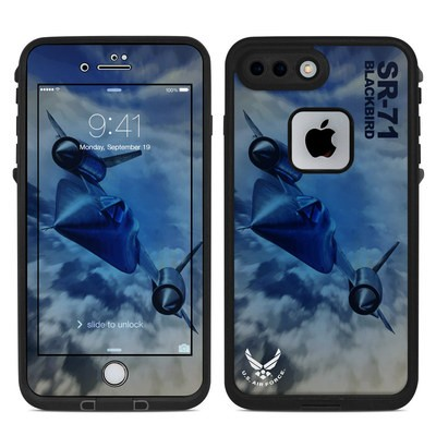 Lifeproof iPhone 7-8 Plus Fre Case Skin - Blackbird