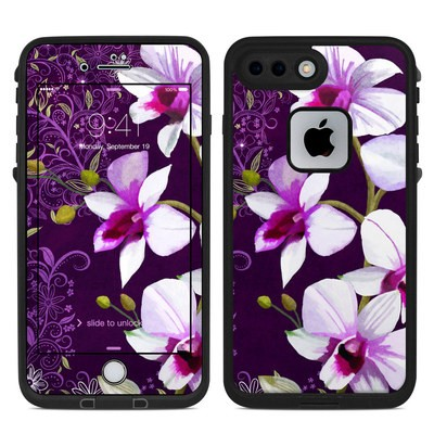 Lifeproof iPhone 7 Plus Fre Case Skin - Violet Worlds