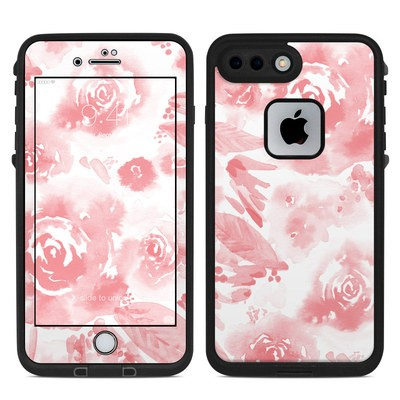 Lifeproof iPhone 7 Plus Fre Case Skin - Washed Out Rose