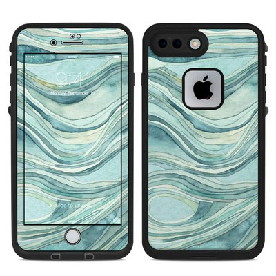 Lifeproof iPhone 7 Plus Fre Case Skin - Waves