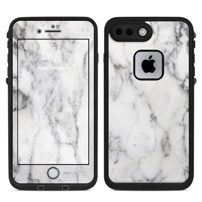 Lifeproof iPhone 7 Plus Fre Case Skin - White Marble
