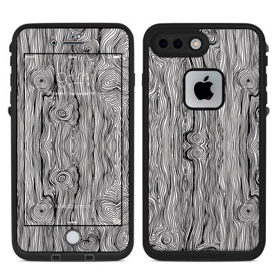 Lifeproof iPhone 7 Plus Fre Case Skin - Woodgrain