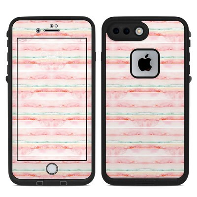 Lifeproof iPhone 7 Plus Fre Case Skin - Watercolor Sunset